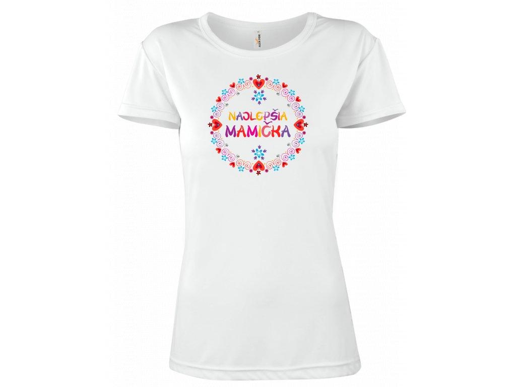 Najlepšia mamička tričko