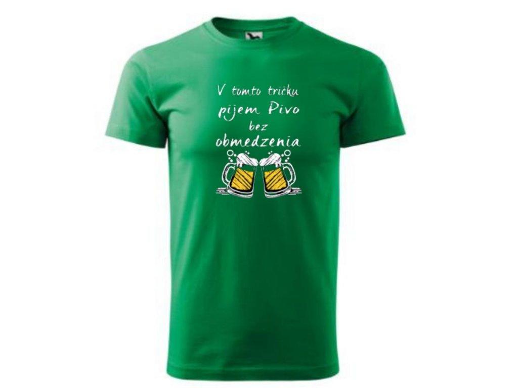 tričko mozem pit pivo tric ko