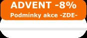 Akce ADVENT -8%