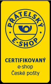 CERTIFIKOVANÝ e-shop České pošty