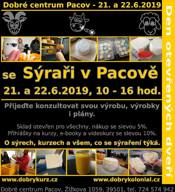 Den otevřených dveří se Sýraři v Pacově - 21., 22.6.2019 - Dobré centrum Pacov