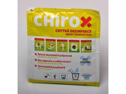 Dezinfekce Chirox - sáček 50g na 5l vody
