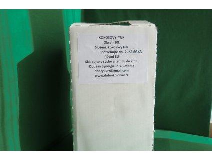 Kokosový tuk 100% - kbelík 10l