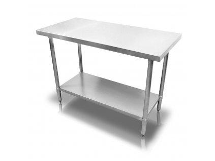 Stůl nerezový - pracovní 120x75x86 cm (BEZ SLEVY 5%)