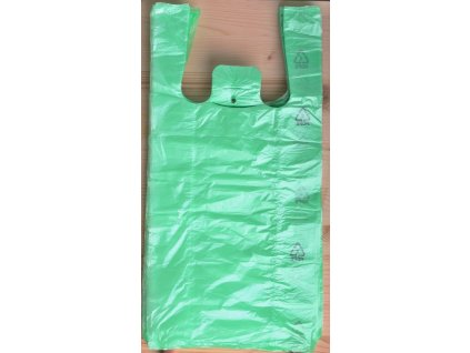 Tašky mikroten - zelené 4kg/ 50ks/8 mikronů