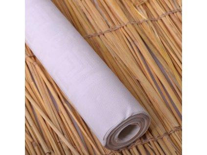 Ubrus papírový - bílý, role 8x1,2m