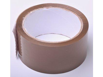 Páska lepící hnědá - 1ks/48mm x 66m