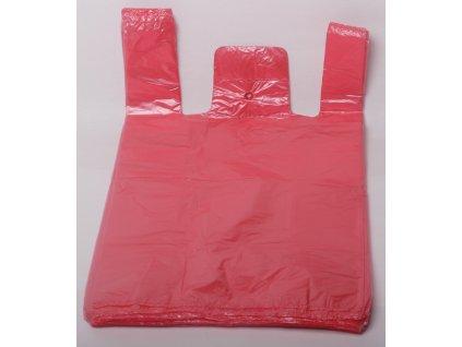 Tašky mikroten - modré/červené 10kg/50ks/11 mikronů