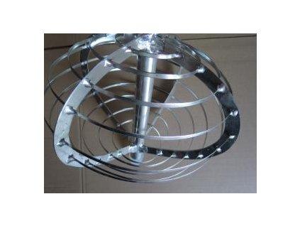 Harfa sýrařská kulatá/ Metla - nerez, průměr 45cm