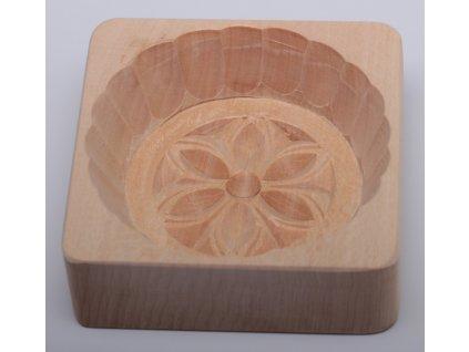 Forma na máslo - květ - kolečko, 10x10x3cm