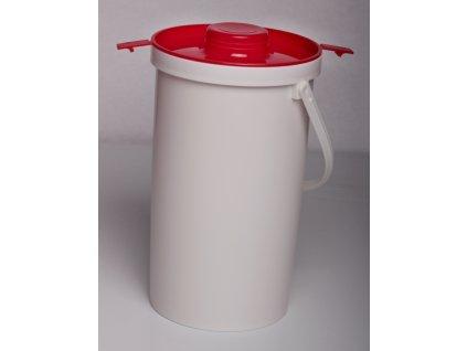 Konvička na mléko - plast 2l