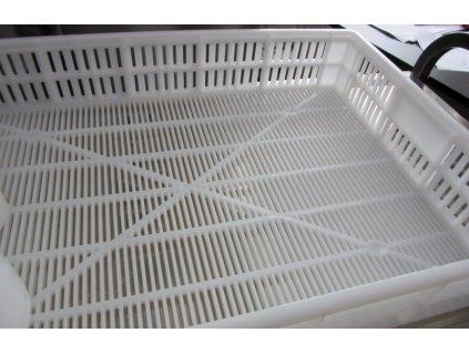 Odkapávací přepravka - gastro bílá - 61x41x9cm