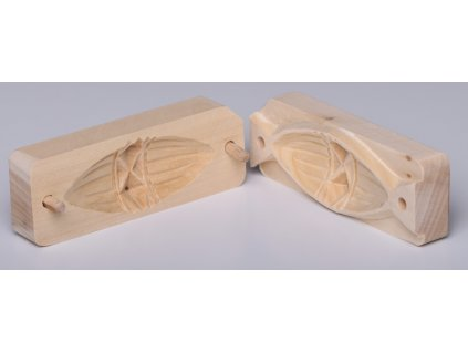 Forma na pařený sýr - typ Oštěpek - malá  - 12,3x4,3cm, vzor 3