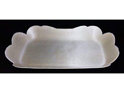 Krabička/tácek topol 12x5,5cm, výška 2cm - 10ks