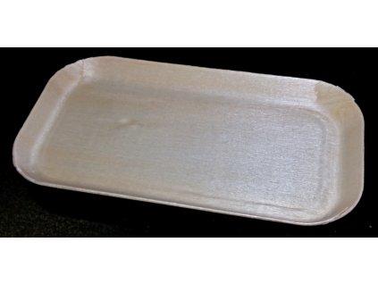 Krabička/tácek topol 12x6cm, výška 0,9cm - 10ks