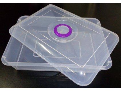 Box 7l s víkem - 40,5x29x8,5cm