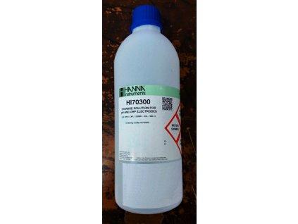 Uchovávací roztok pro pH elektrody - 500ml