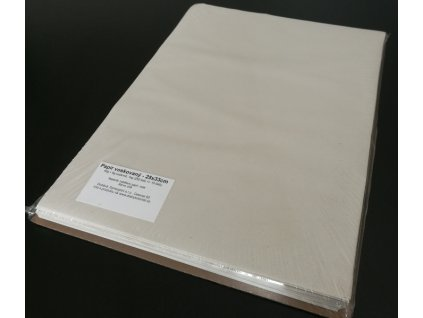 Papír voskovaný archy 25x35cm, 40g/m2, 1kg/220listů