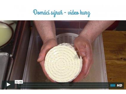 Videokurz na flash - Domácí sýrař