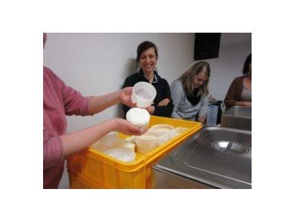 8. kurz Výroba sýrů 2 - téma: Tažené a nakládané + Měkké, zrající a plísňové sýry - 4.,5.4.2020