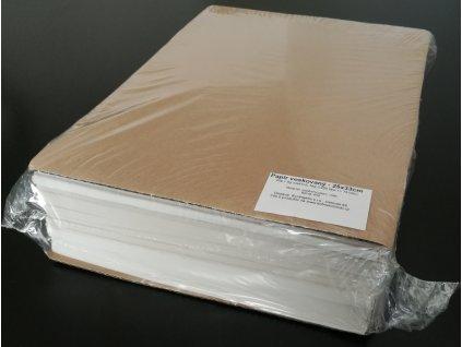 Papír přírodní voskovaný archy 25x33cm, 42g/m2, 5kg/1250listů