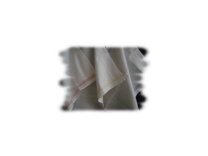 Utěrka bílá - len/bavlna 4ks
