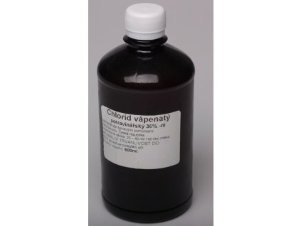 Chlorid vápenatý - roztok 36%,  500ml
