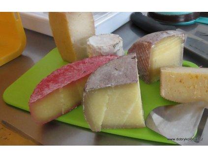 Prkénko na sýry - plast, 26 x 15,5cm