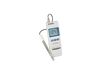 pH metr Voltcraft 100 - bílý (BEZ SLEVY 5%)
