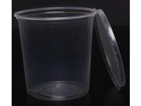 Kelímek průhledný s víčkem 500 ml - balení 10ks