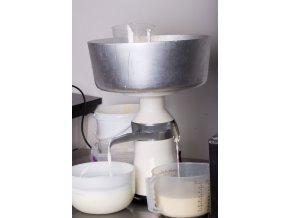 Odstředivka na mléko - 80l/h, celokovová
