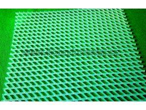 Podložka pod sýry - transparentní v roli o šíři 1m - oka 4x5mm