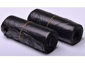 Pytle odpadkové - černé 30l/50x60cm/6 mikronů - 2 x 50ks