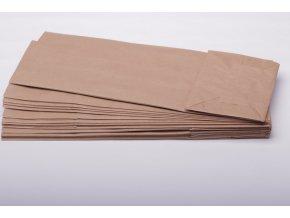 Sáčky papírové bez okénka - hnědé EKO 12x32,5cm/ 20ks