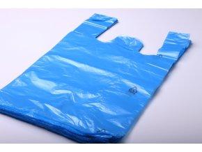 Tašky mikroten - modré 10kg/50ks/11 mikronů