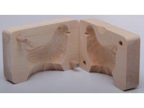 Forma na tažený sýr - Kuřátko - 10x6,5x4cm