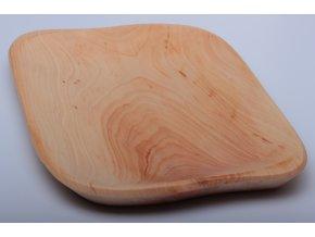 Tác dřevěný - třešeň - 22x28cm