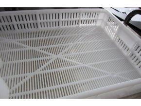 Odkapávací přepravka - gastro bílá - 64x44x10,5cm