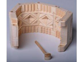 Forma na oštěpek - manžeta, průměr 10cm, v.7,5cm