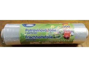 Folie na potraviny s perforací -  role 30cmx500m/10 mikronů
