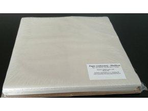 Papír voskovaný archy 25x25cm, 42g/m2, 1kg/350listů
