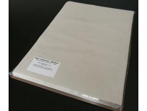 Papír přírodní voskovaný archy 25x33cm, 42g/m2, 1kg/250listů