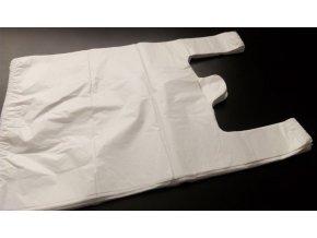 Tašky mikroten - bílé 20kg/50ks/14 mikronů