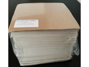 Papír přírodní voskovaný archy 20x20cm, 42g/m2, 5kg/2500listů