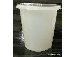 Kelímek s víčkem - 750ml, mléčně-bílá