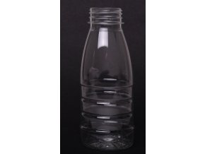 Lahev na mléko - 250ml, plast, transparent