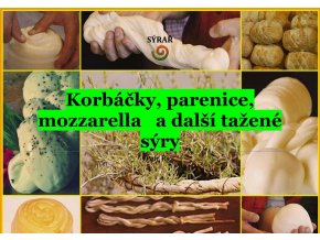 e-book: Korbáčky, parenice, mozzarella a další tažené sýry