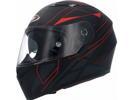 CASCO SH 600 ELITE NG MATE ROJO SHIRO HELMETS 1