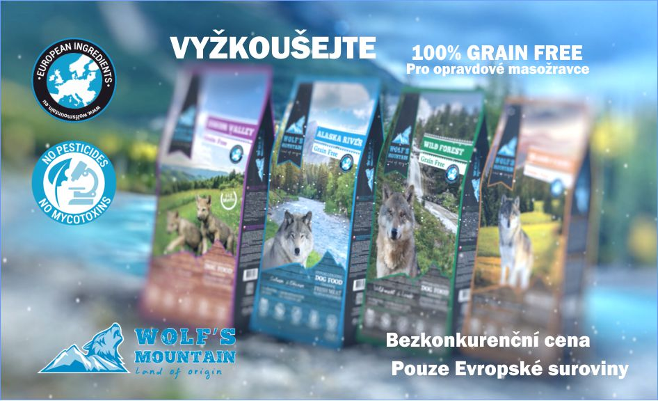 100% GRAIN FREE KRMIVO WOLF'S MOUNTAIN