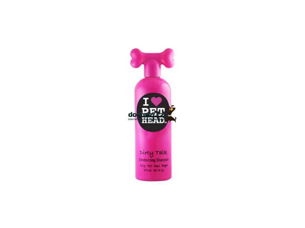 Pet Head šampon dog Dirty Talk - deodorizující 475ml